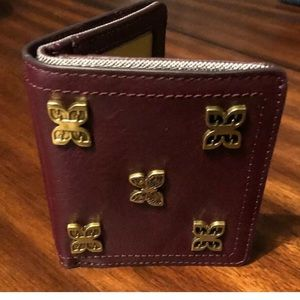 Fossil Accessories - Fossil RFID bifold wallet butterfly fig color